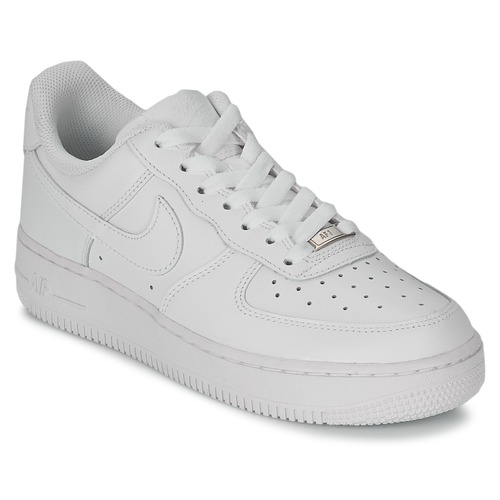 newest 52d18 5175f Skor Dam Sneakers Nike AIR FORCE 1 07 LEATHER W Vit