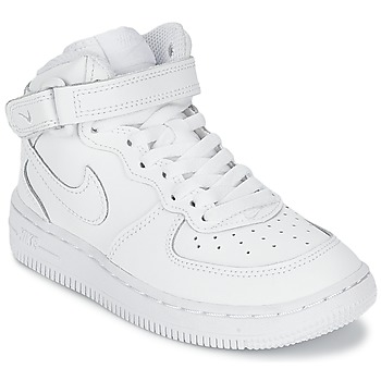 Skor Barn Sneakers Nike AIR FORCE 1 MID Vit