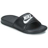 Skor Herr Flipflops Nike BENASSI JUST DO IT Svart
