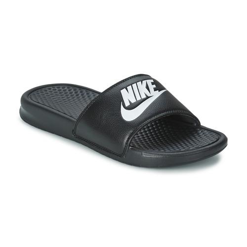 Skor Herr Flipflops Nike BENASSI JUST DO IT Svart
