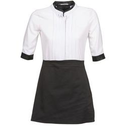 textil Dam Korta klänningar La City COLUMBA Svart / Vit