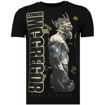 textil Herr T-shirts Local Fanatic Notorious King Conor Mcgregor Z Svart