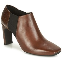 Skor Dam Boots Geox D VIVYANNE HIGH Brun