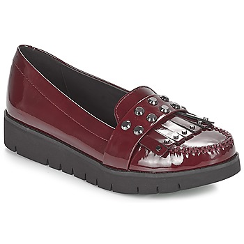 Skor Dam Loafers Geox D BLENDA Bordeaux