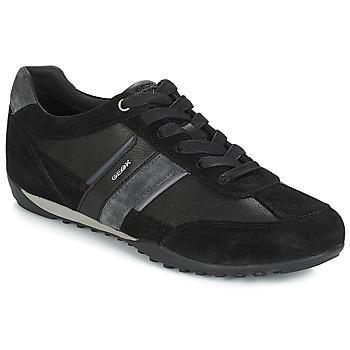 Skor Herr Sneakers Geox U WELLS Svart / Marin