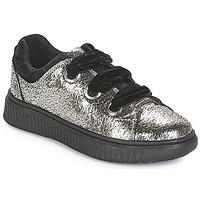 Skor Flickor Sneakers Geox J DISCOMIX GIRL Silver