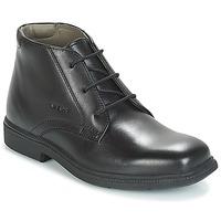 Skor Pojkar Boots Geox JR FEDERICO Svart