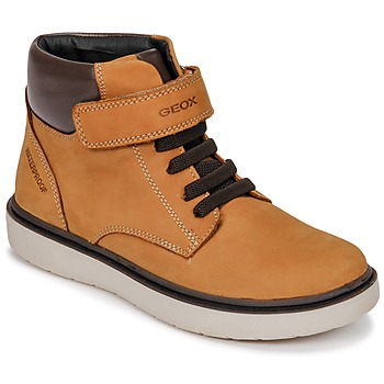 Skor Pojkar Höga sneakers Geox J RIDDOCK BOY WPF Gul