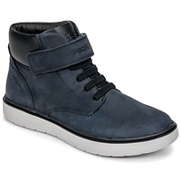 Skor Pojkar Höga sneakers Geox J RIDDOCK BOY WPF Marin