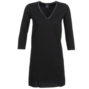 textil Dam Korta klänningar Majestic BRUNEHILDE Svart