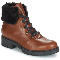 Skor Dam Boots Casual Attitude JENO Cognac