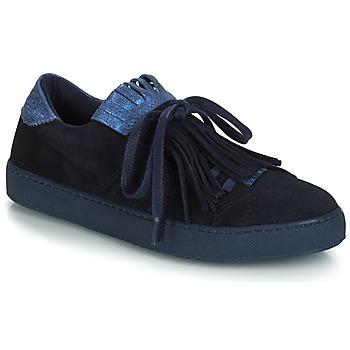 Skor Dam Sneakers André CALIFORNIA Blå