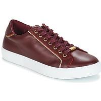 Skor Dam Sneakers André BERKELITA Bordeaux