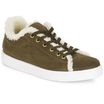 Skor Dam Sneakers André AWASSI Kaki