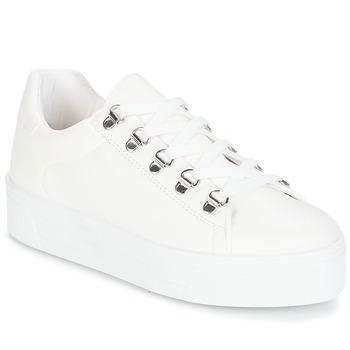 Skor Dam Sneakers André CROCHET Vit