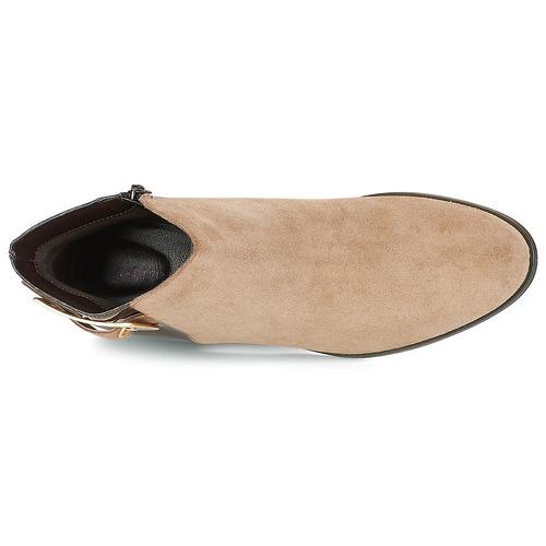 ELFIE  André  boots  dam  beige