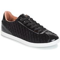 Skor Dam Sneakers André VELVET Svart