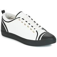 Skor Dam Sneakers André LEANE Vit