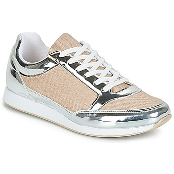 Skor Dam Sneakers André SAFARI Silverfärgad