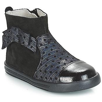 Skor Flickor Boots André NUIT Svart