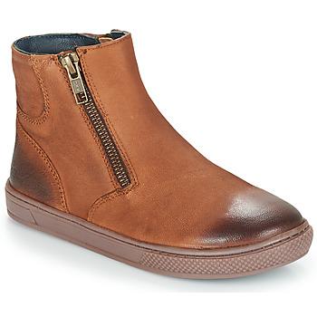 Skor Pojkar Boots André CUMIN Brun