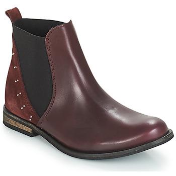 Skor Flick Boots André MUSCADE Bordeaux