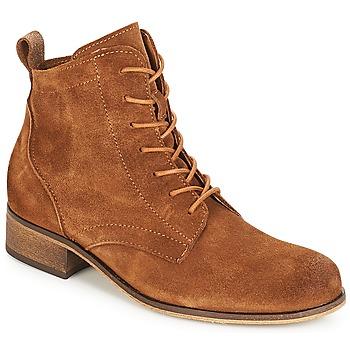 Skor Dam Boots André GODILLOT Brun
