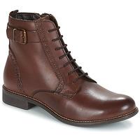Skor Dam Boots André CHEPTELA Brun