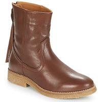 Skor Dam Boots André THEO Brun