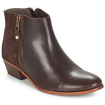 Skor Dam Boots André THAIS Brun
