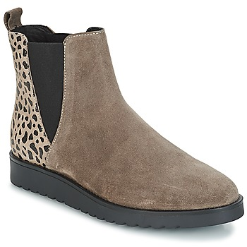 Skor Dam Boots André TRULY Beige