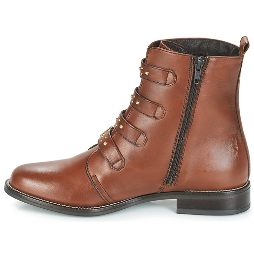 TODAY  André  boots  dam  brun