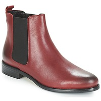 Skor Dam Boots André CARAMEL Röd