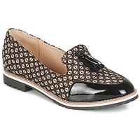 Skor Dam Loafers André EMOTION Brun