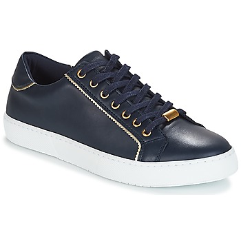 Skor Dam Sneakers André BERKELITA Marin