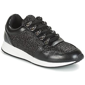 Skor Dam Sneakers André TOSCANA Svart