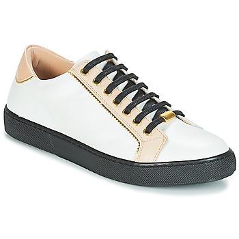 Skor Dam Sneakers André BERKELITA Vit