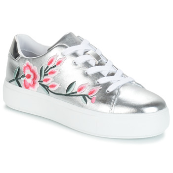 Skor Dam Sneakers André ALGINA Silver