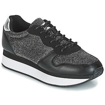 Skor Dam Sneakers André TYPO Svart / Silver