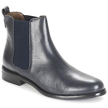 Skor Dam Boots André CARAMEL Blå
