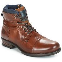 Skor Herr Boots André SACLAY Brun