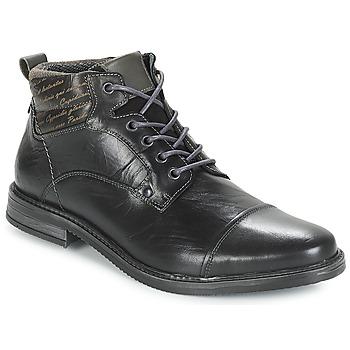 Skor Herr Boots André VERON Svart