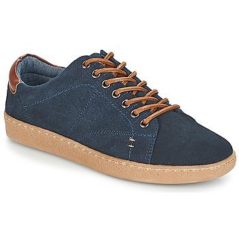 Skor Herr Sneakers André LENNO Marin