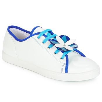 Skor Dam Sneakers André GUIMAUVE Vit