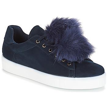 Skor Dam Sneakers André POMPON Blå