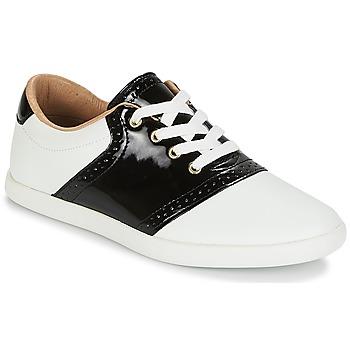 Skor Dam Sneakers André LIZZIE Vit