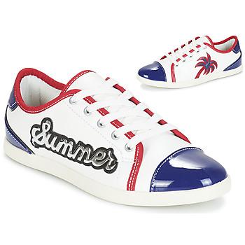 Skor Dam Sneakers André LIMONADE Vit