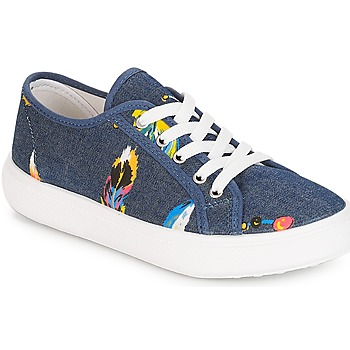 Skor Flickor Sneakers André PLUMETTE Jeans