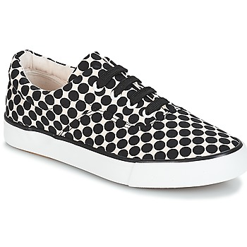 Skor Dam Sneakers André FUSION Prickig / Svart