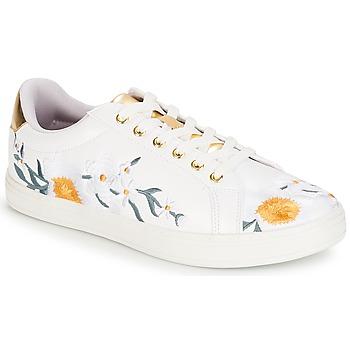 Skor Dam Sneakers André COROLLE Vit